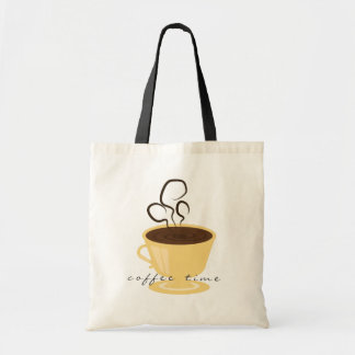 Coffee Time Tote Tote Bags