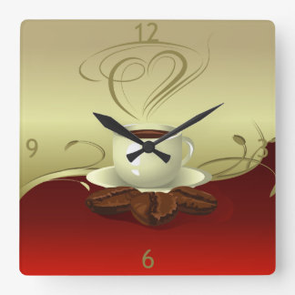 Coffee Time Wall Clock (1)