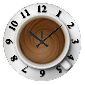 Coffee Time Wallclock