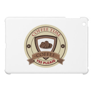 Coffee Time Yes Please Logo iPad Mini Cases