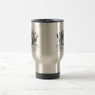 Coffee Travel Mug-Masonic Freemason Mason Masonry Stainless Steel Travel Mug