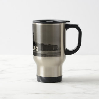 Coffee Travel Mug with Lid Tough As A Tugboat