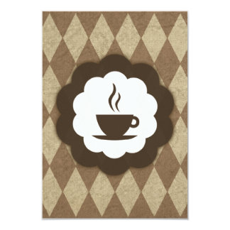 coffee vintage card