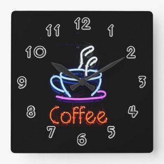Coffee Wallclock