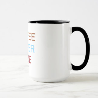 Coffee. water. wine mug