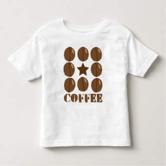 Coffee with beans t shirts