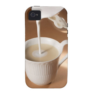 Coffee with milk being poured in iPhone 4/4S covers