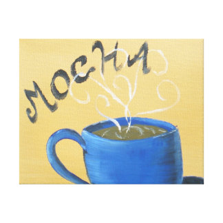 Coffee Wrapped Canvas Gallery Wrapped Canvas
