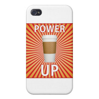 Coffee - Your Super Power! Cover For iPhone 4