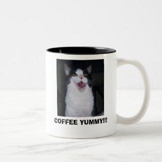 COFFEE YUMMY!!! Two-Tone MUG