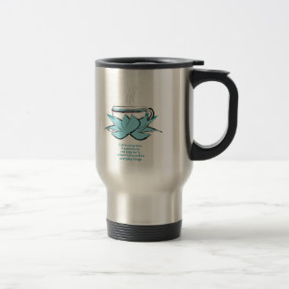 coffee zen 15 oz stainless steel travel mug