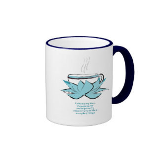 coffee zen ringer mug