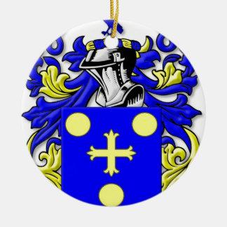 coffeen Coat of Arms Round Ceramic Decoration