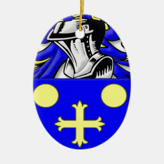 Coffeen Coat of Arms Ornament