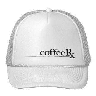 CoffeeRx Cap White Trucker Hat