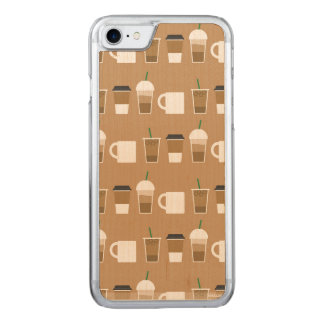 COFFEES TO GO Slim Maple iPhone 6/6s Carved iPhone 8/7 Case