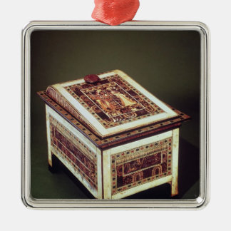 Coffer, from the Tomb of Tutankhamun Christmas Ornament
