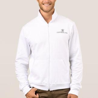 Coffey Cuts Fleece Jacket Digital Design