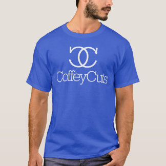 Coffey Cuts Men's Royal Blue T-Shirt