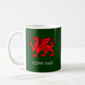 Coffi Taid - Grandad's Coffee in Welsh Coffee Mug