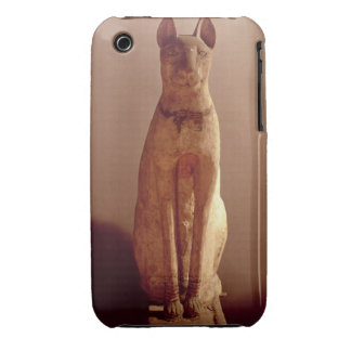 Coffin of a cat protected by the goddess Bastet (p iPhone 3 Case