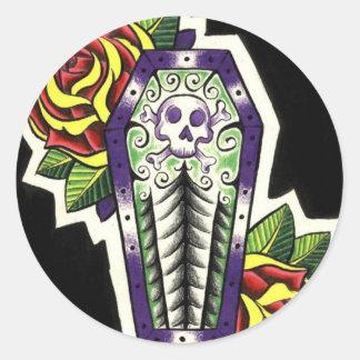 Coffin Stickers