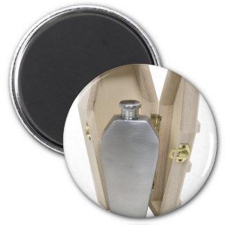 CoffinWoodenFlask070109 Magnets