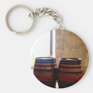 Cognac Brandy Barrels Key Ring