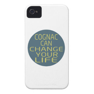 Cognac Can Change Your Life iPhone 4 Cover