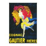 Cognac Gautier Promotional PosterFrance Canvas Print