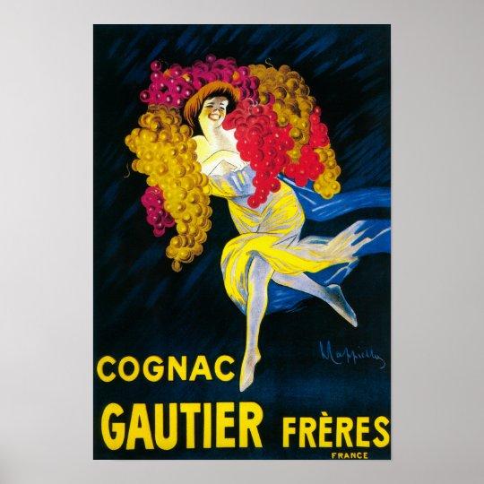 Cognac Gautier Promotional PosterFrance Poster