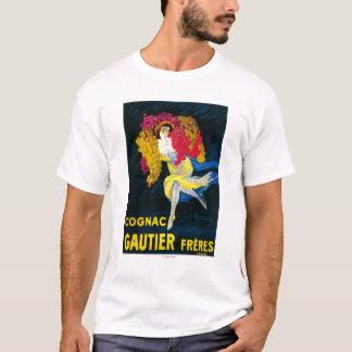 Cognac Gautier Promotional PosterFrance T-Shirt