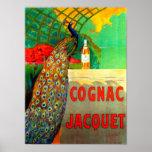 Cognac Jacquet Vintage Advertising Poster