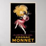 Cognac Monnet By Cappiello Vintage Poster