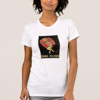 Cognac Pellisson Vintage Wine Drink Ad Art T Shirts