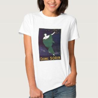 Cognac Sorin Vintage Wine Drink Ad Art Tshirts