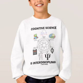 Cognitive Science Is Interdisciplinary Sweatshirt