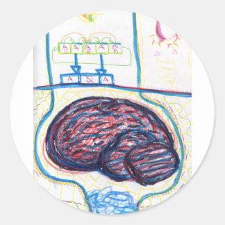 Cognito Shift Round Sticker