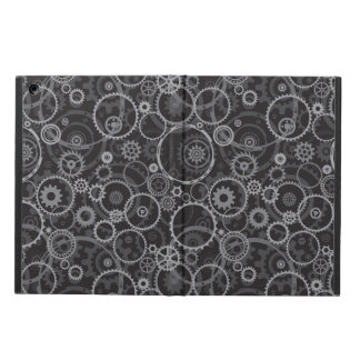 Cogwheels pattern cover for iPad air