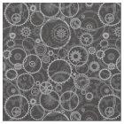 Cogwheels pattern fabric