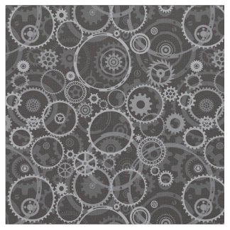 Cogwheels pattern fabric