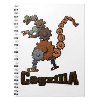 CogzillA Spiral Notebook