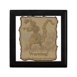 """CogzillA """"Warning!"""" Gift Box"""