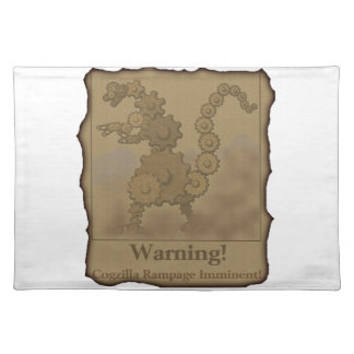 "CogzillA ""Warning!"" Placemats"