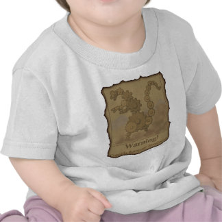 "CogzillA ""Warning!"" Tee Shirts"