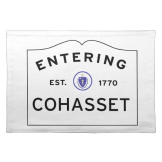 Cohasset MA Placemat