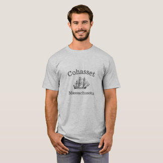 Cohasset Massachusetts Ship T-Shirt