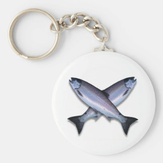 Coho Ocean Cross Items Key Ring