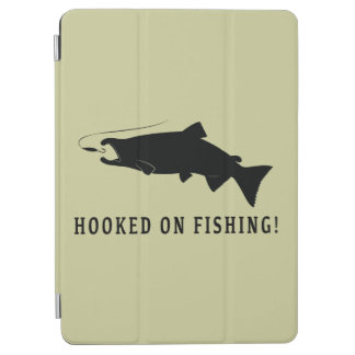 Coho Salmon Hooked on Fishing iPad Air Cover