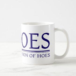 Cohoes - Cooperative Union of Hoes Basic White Mug